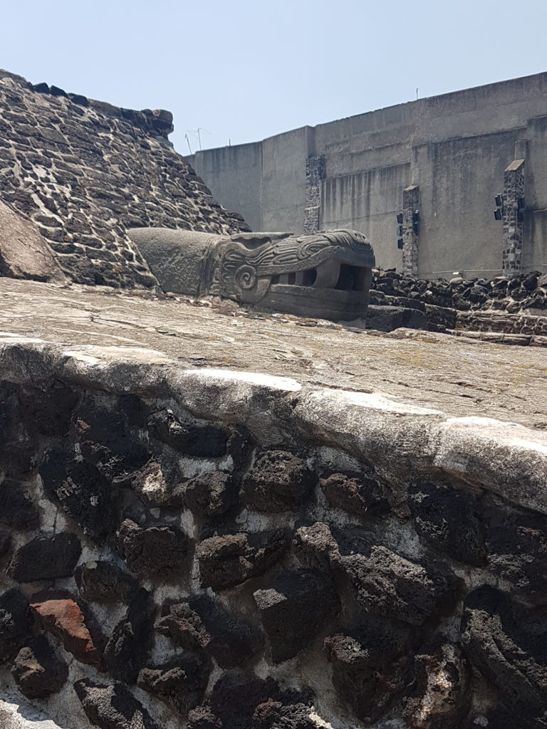 Templo Mayor in Mexiko City