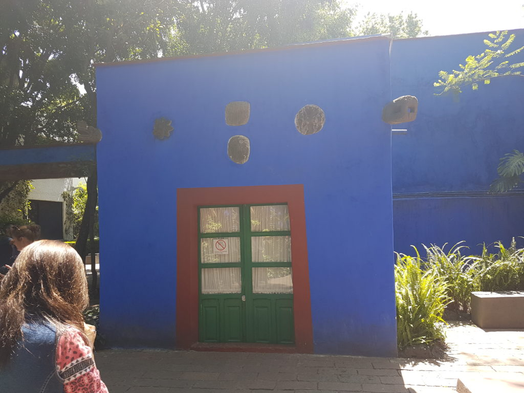 Frida Kahlo Museum in Mexiko