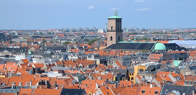 Kopenhagen Dachterrasse