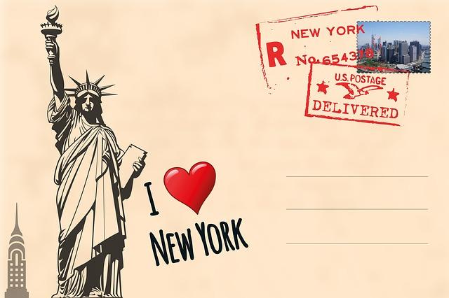 Die NYC Freiheitsstatue