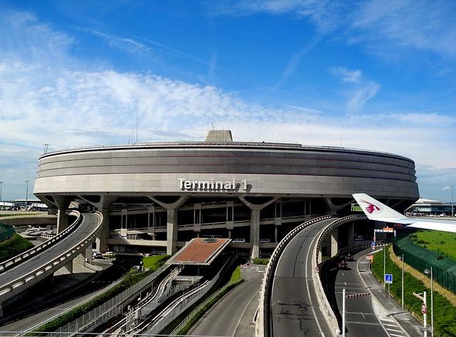 Charles de Gaulle Flughafen Paris