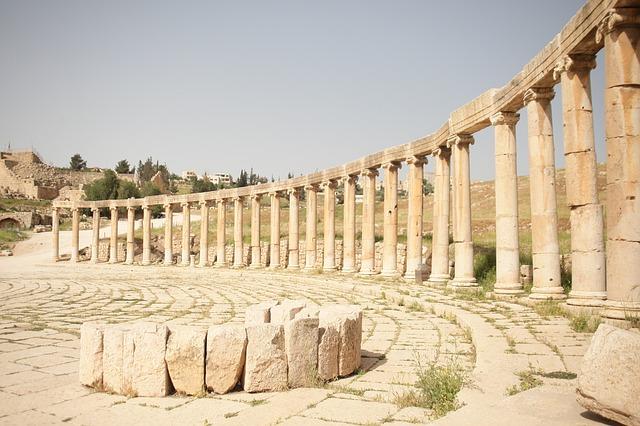 Die historische Stadt Jerash
