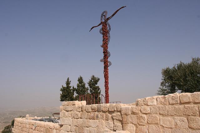 Berg Nebo, Jordanien