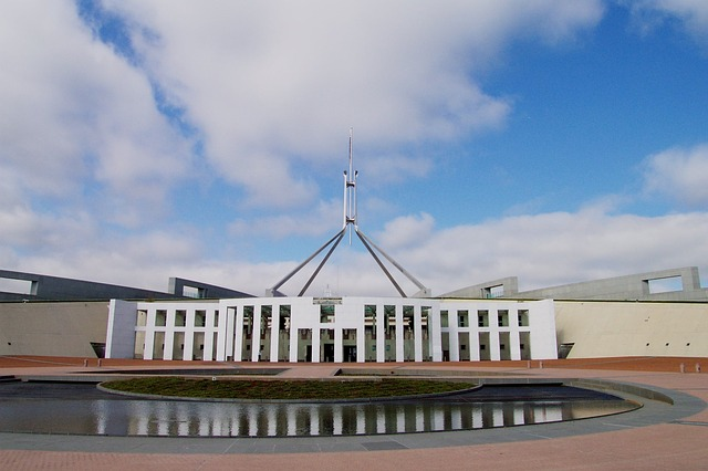 Parlament in Canberra, Australien