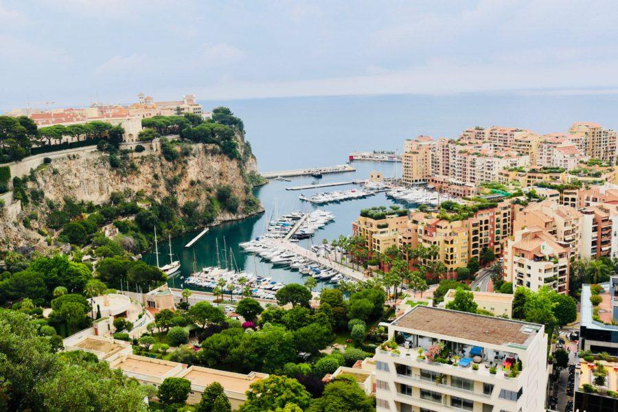 Monaco an der Coté d'Azur