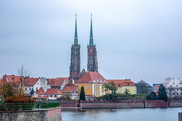 Die Kirche in Breslau