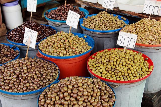 Oliven aus Albanien