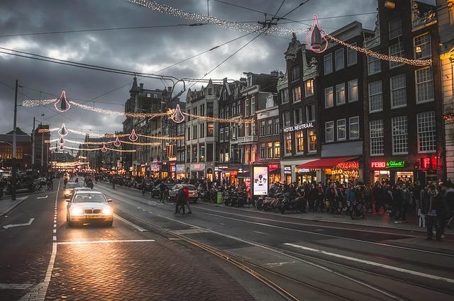 Weihnachtsmarkt Amsterdam