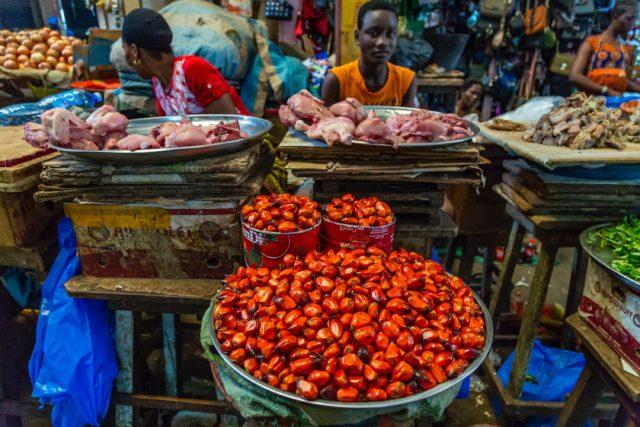 Markt in Abidjan