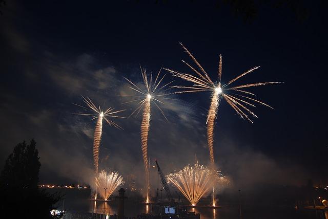 Polen Feuerwerk