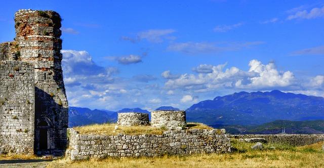 Burg in Albanien