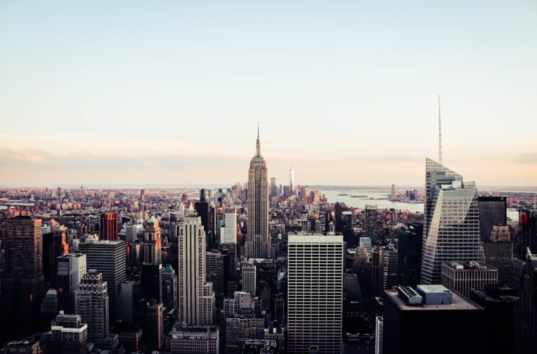 Einzigartige Gebäude in New York