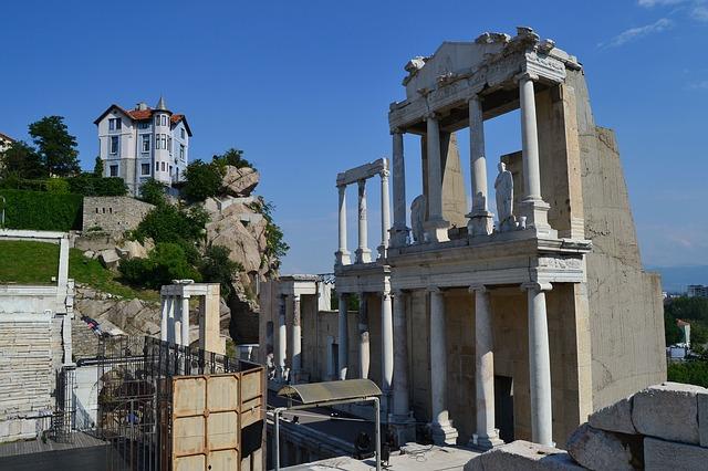 Die historische Stadt Plovdiv