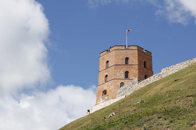 Der Burgturm von Vilnius