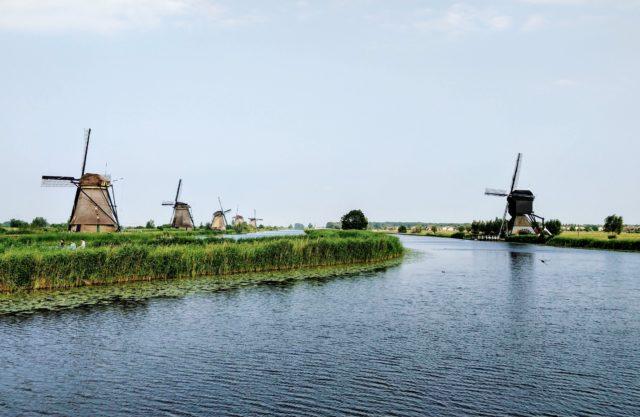 Zaanregion für Angelurlaub in Holland