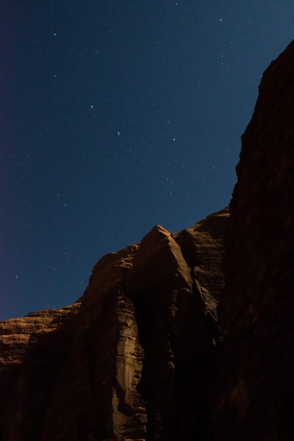 Sternenhimmel, Wadi Rum