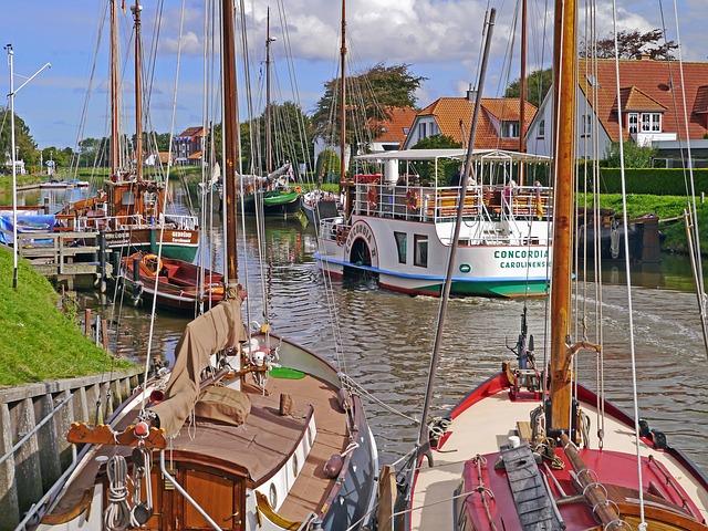 Carolinensiel und Harlesiel Stadt in Ostfriesland