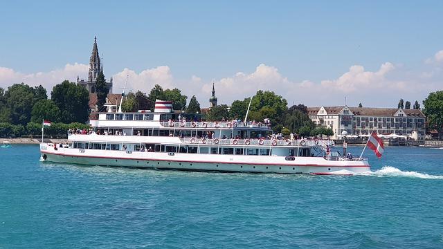 Schiffsrundfahrt auf dem Bodensee