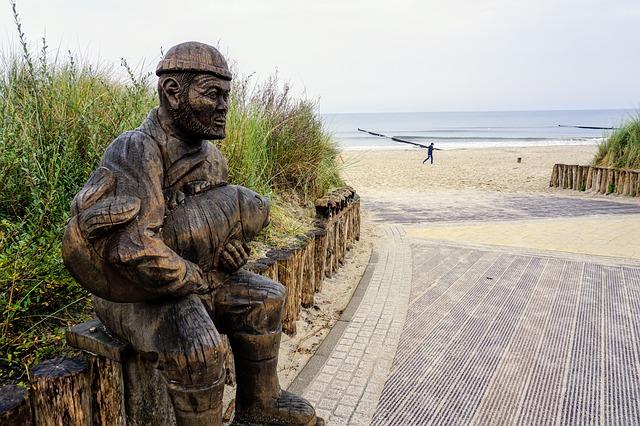 Der Fischer auf Usedom