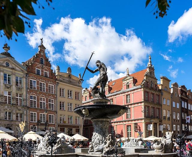 Neptunbrunnen in der Altstadt