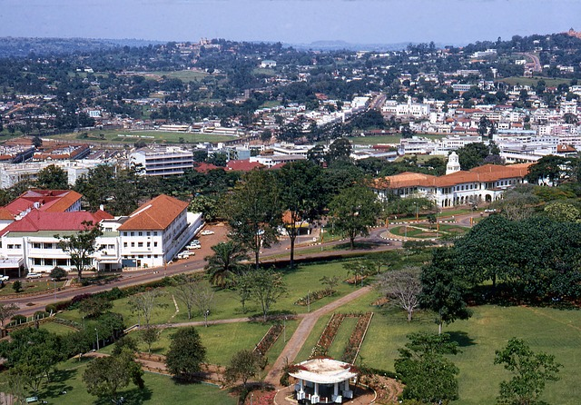 Kampala, Hauptstadt von Uganda