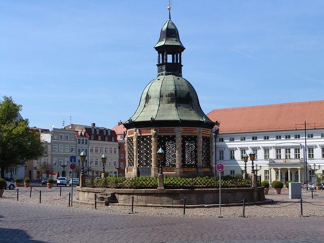 Der Marktplatz von Wismar