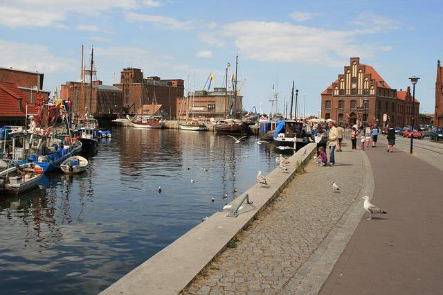 Alter Hafen von Wismar