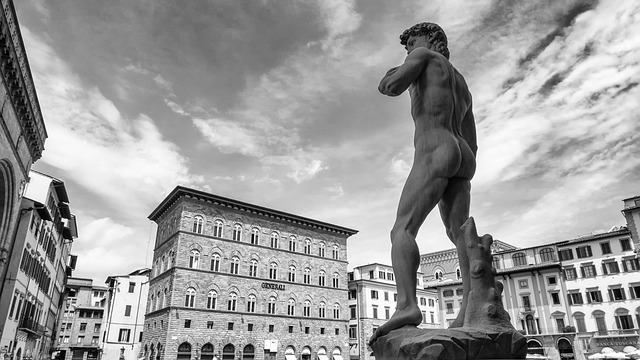 David Statue von Michelangelo