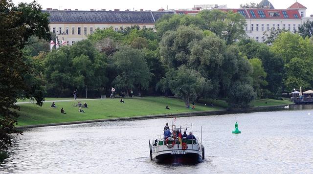 Romantik am Landwehrkanal, Berlin