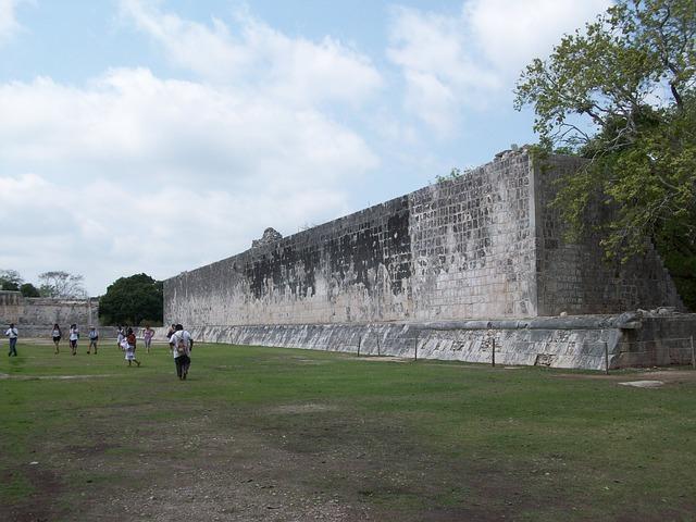 Der Ballspielplatz von Chichén Itzá