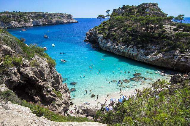 Beliebtes Reiseziel Mallorca