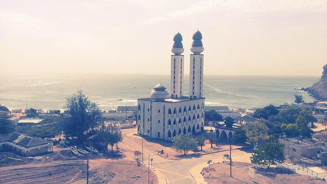Fischer Moschee in Dakar