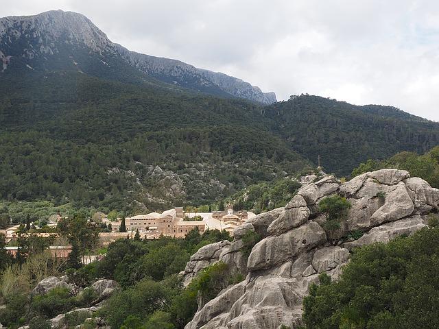 Kloster Santuari auf Mallorca