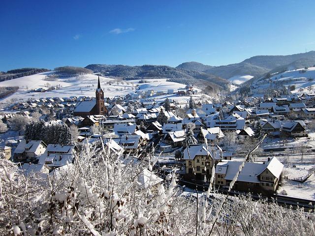 Wintermärchen Schwarzwald