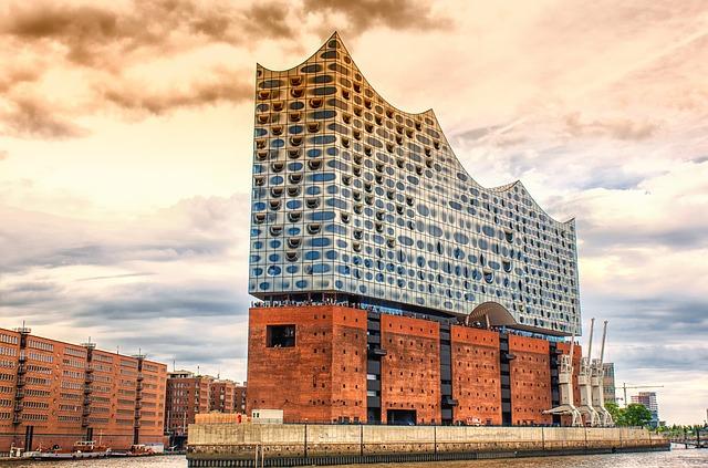Kostenloser Blick von der Elbphilharmonie Hamburg