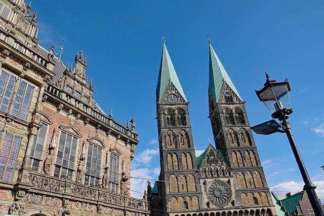 Blick auf den Bremer Dom