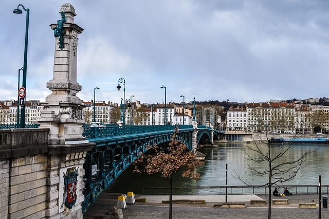 Blick auf die Altstadt von Lyon