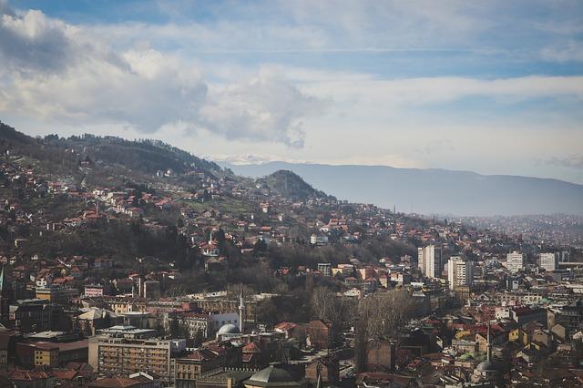 Sarajevo in Bosnien Herzegowina