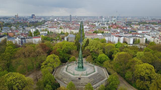 Blick auf den Viktoriapark