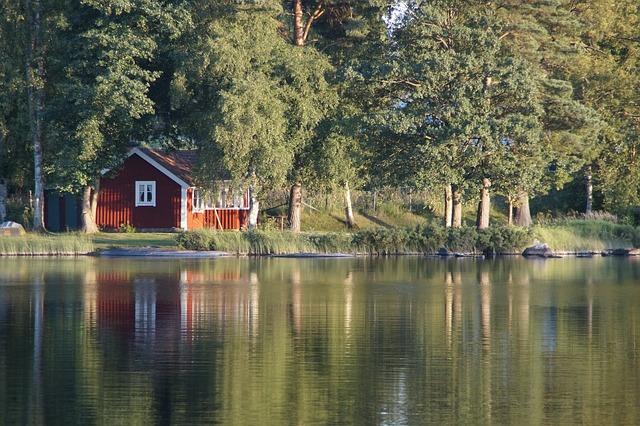 Typische Schweden Urlaub Ferienhaus