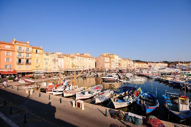 Der Hafen von St. Tropez