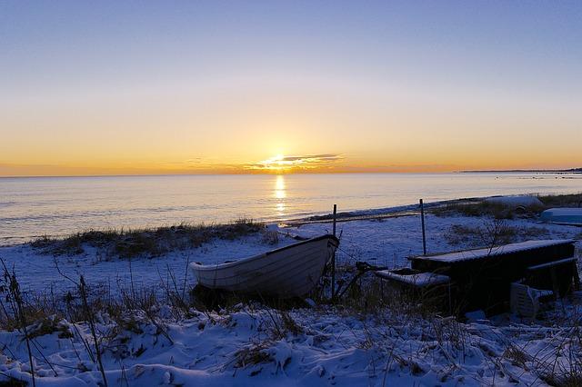 Sonnenuntergang in Ystad