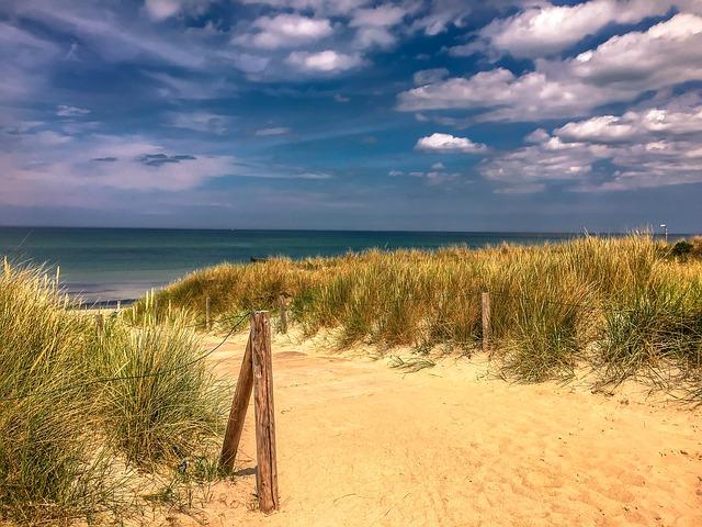 Weiter Strand am Darße