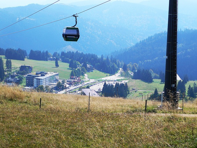Die Feldbergbahn im Schwarzwald