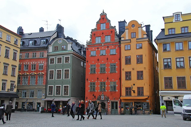 Die Stockholmer Altstadt Gamla Stan