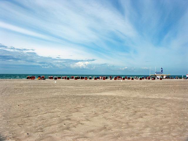 Warnemünde Strand Mecklenburg Vorpommern