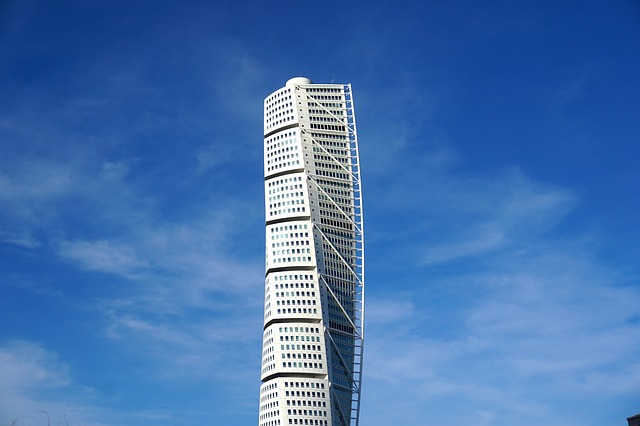 Der Turning Torso in Malmö