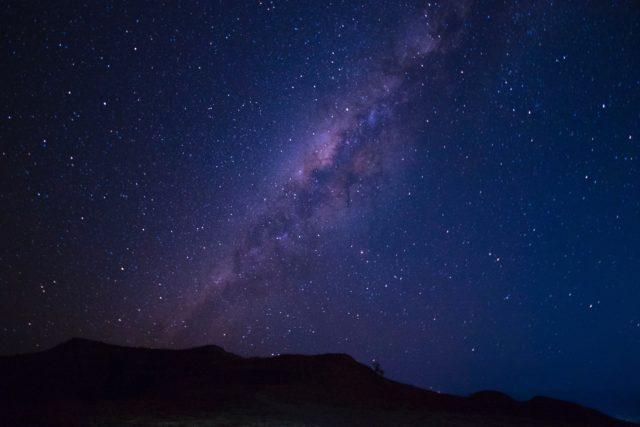 Sternenhimmel über Sumba