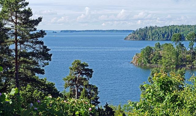 Mälaren See Schweden