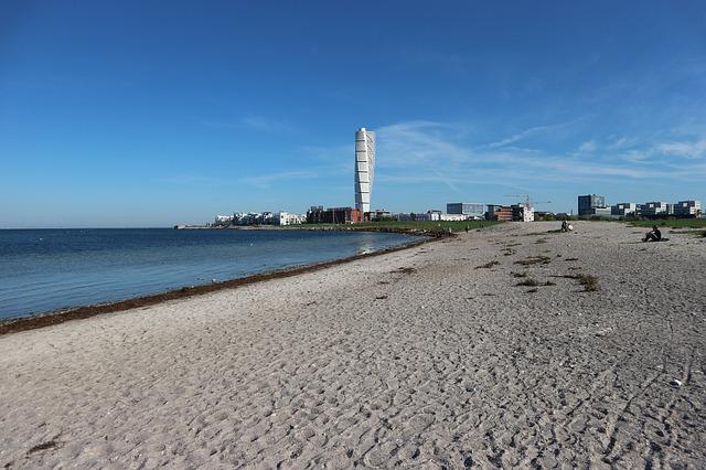 Der Strand von Malmö